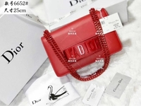 Used DIOR LADIES BAG RED in Dubai, UAE