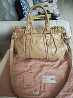 Used ORIGINAL MIUMIU VITELLO LUX LEATHER BAG. in Dubai, UAE