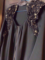 Used Abaya hand embellished  in Dubai, UAE