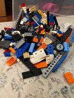 Used LEGO lot + FREE action figures in Dubai, UAE