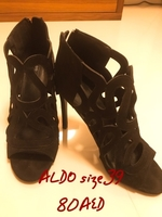 Used Aldo black heel  in Dubai, UAE