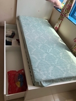 Used Single bed with 2 storage and mattress  in Dubai, UAE