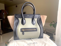 Used Celine Tri Color Mini Luggage Bag in Dubai, UAE