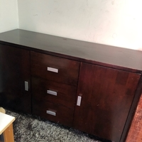 Used Desk with cabinets  in Dubai, UAE