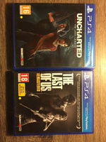 Used Ps4 game (Last of us + uncharted) in Dubai, UAE