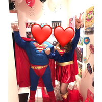 Used Superman and Supergirl Costume in Dubai, UAE