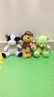 Used 3 small stuffed toys in Dubai, UAE