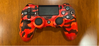Used Red Camouflage PS4 Controller in Dubai, UAE
