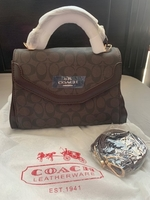 Used Coach 2 way bag in Dubai, UAE