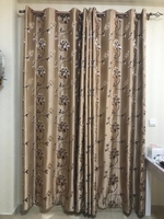 Used 2 pairs of curtains with rods in Dubai, UAE