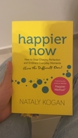 Used BRAND NEW Happier now by Nataly Kogan  in Dubai, UAE