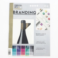 Used Computer Arts Magazine - Branding in Dubai, UAE