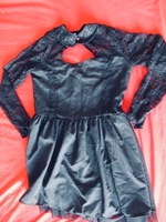 Used Beautiful black dres .bust34,shoulder14  in Dubai, UAE