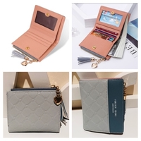 Used Cute grey pink purse wallet  in Dubai, UAE