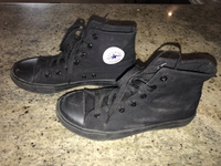 Used Black High-tops Shoes   in Dubai, UAE