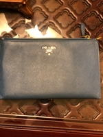 Used Blue Prada wallet authentic  in Dubai, UAE