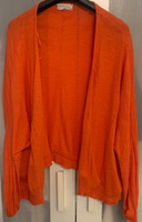 Used Orange Cardigan  in Dubai, UAE