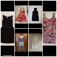 Used 6 dresses size xs-s offer  in Dubai, UAE