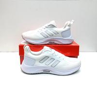 Used Rubber shoes Adidas white size44 in Dubai, UAE