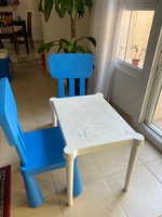 Used Children table and chair in Dubai, UAE