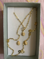 Used Real gold 18k gold set 18inches in Dubai, UAE