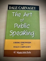 Used The Art of Public Speaking Book in Dubai, UAE