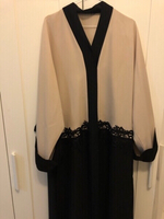 Used Beige abaya perfect condition  in Dubai, UAE