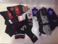 Used Branded unisex stretchable socks 10 pcs in Dubai, UAE