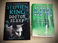 Used 2 Hardcover Novels by Stephen King in Dubai, UAE