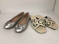 Used Ladies Shoes and Gucci Slides bundle off in Dubai, UAE