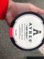 Used AYRES body polish with essential oils in Dubai, UAE