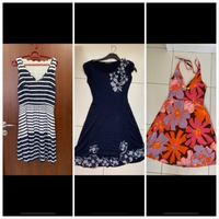 Used 3 branded dresses (small) in Dubai, UAE