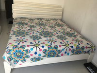 Used Cream colour cot from Home Centre  in Dubai, UAE