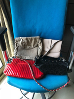 Used 4 pcs preloved bags in good condition. in Dubai, UAE