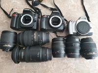 Used 2 DSLRs + 6 Lenses in Dubai, UAE