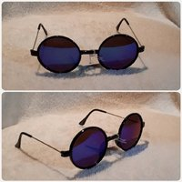 Used Blue black sunglass in Dubai, UAE