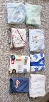 Used 4 baby blankets and 4 baby bath robes in Dubai, UAE