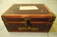 Used HARRY POTTER 1-7 books Trunk boxed set in Dubai, UAE