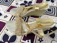 Used Nisha Sole Wedge Heels in Dubai, UAE