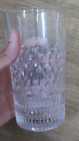 New crystal glasses set of six pieces
