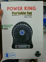 Used Mini Fan Rechargable LED Torch 3 Speed in Dubai, UAE