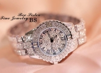 Used BS silver fine jewelry silver watch in Dubai, UAE