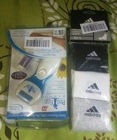 Used Ped egg power and Adidas original socks in Dubai, UAE