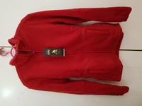 Men's Cardigan Coat Red 160-170cm