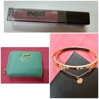Used Bracelet + wallet + lip gloss in Dubai, UAE