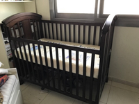 Used Baby cot with mattress in Dubai, UAE