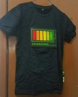 Used Led light voice activated T-shirt in Dubai, UAE