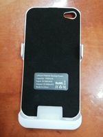 Battery bank cover for iphone 4.