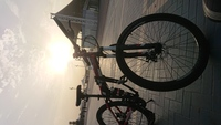 Used Mountain bike foldable 26 inch in Dubai, UAE