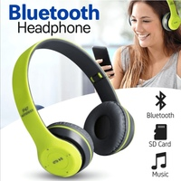 Used New wireless green bluetooth headphone in Dubai, UAE